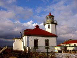 Alki lighthouse