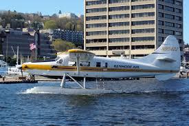Seaplane on Lake Union