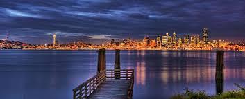 Seattle Skyline from Alki